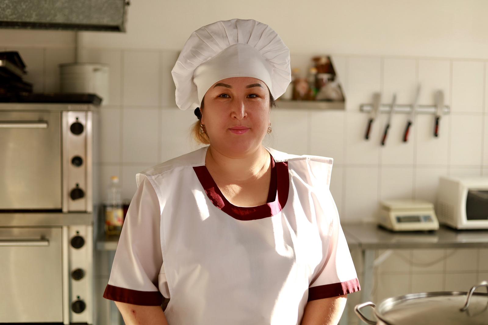Аширбекова Жипаркуль Токтусуновна - повар