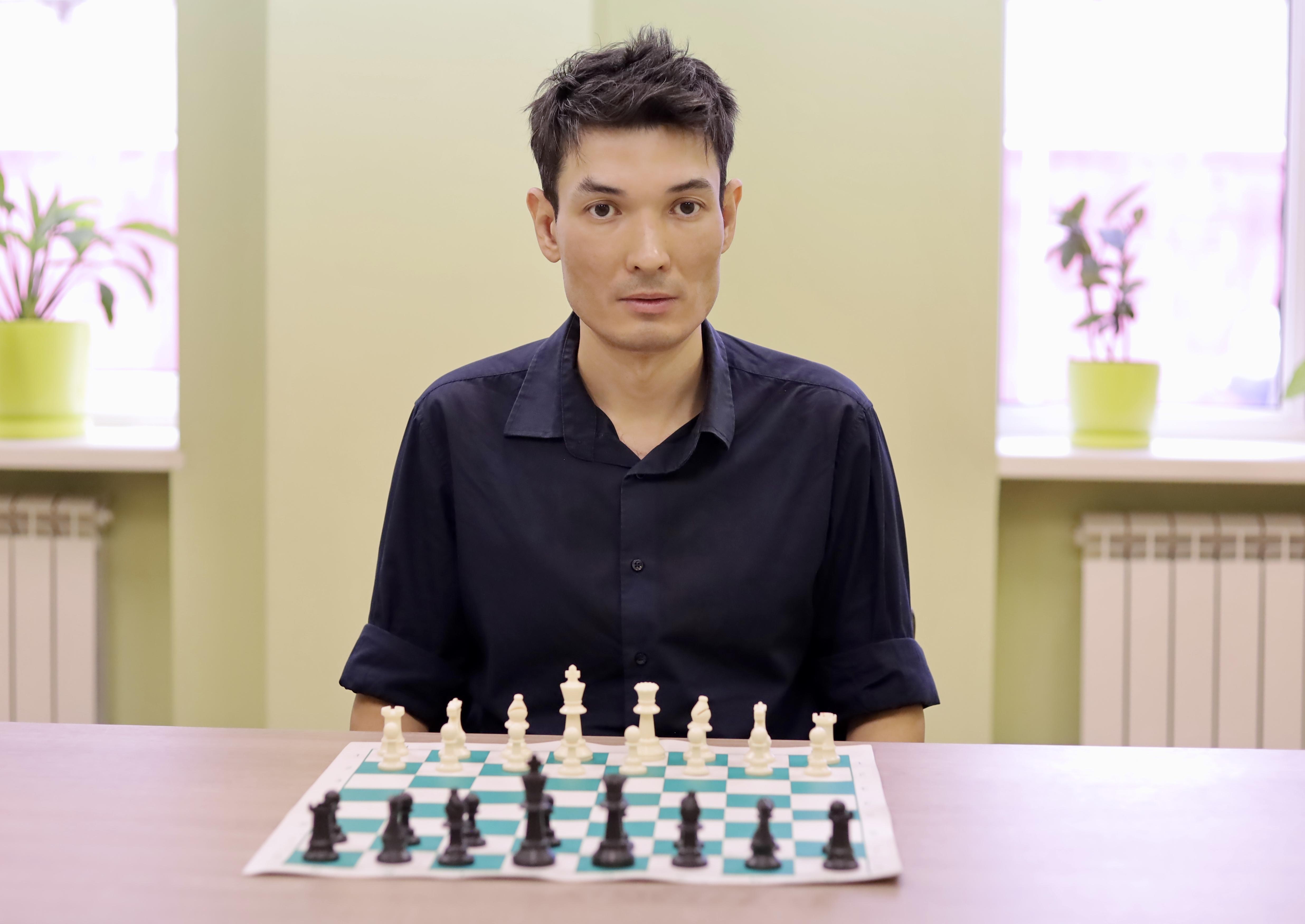 Сейдвалиев Диас Кажимуханович - Тренер по шахматам